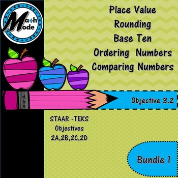 TEKS Objective 3.2 Bundle