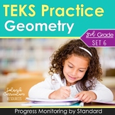 3rd Grade TEKS PRACTICE ~ GEOMETRY 3.6A 3.6B STAAR Test-Prep Progress Monitoring