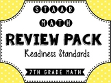 7th Grade STAAR Math Review & Prep Packet
