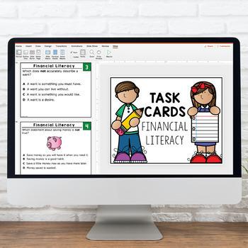 Grade 3 TASK CARDS FINANCIAL LITERACY 3.4C 3.9A 3.9B 3.9E 3.9D STAAR ALIGNED