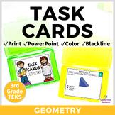 3rd Grade TEKS TASK CARDS ~ GEOMETRY 3.6A 3.6B  Great for STAAR Prep!