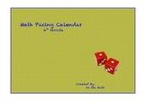 TEKS based 4th Grade Math Pacing Calendar