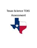 TEKS based assessment Physical Science