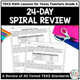 Daily Spiral Review Math | TEKS Test Prep Grade 5