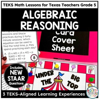 Solving Multi-Step Equations & Numerical Patterns- TEKS Math Activities