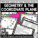 Shape Attributes and The Coordinate Plane- TEKS Math Curriculum