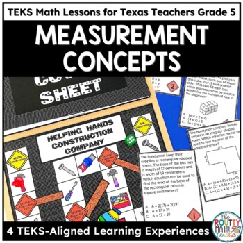 Measurement Conversions, Area, Perimeter & Volume - TEKS Math Curriculum