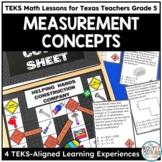 Measurement Conversions, Area, Perimeter & Volume - TEKS Math Activities