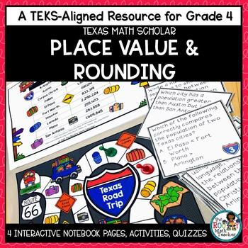 Texas STAAR Math Scholar: Place Value & Rounding Grade 4