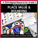 Place Value and Rounding- TEKS Math Activities & Printables