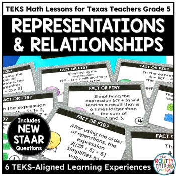 Place Value with Decimals and Order of Operations- TEKS Math Curriculum