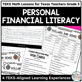 TEKSas STAAR Masters: Personal Financial Literacy Pack- Grade 5