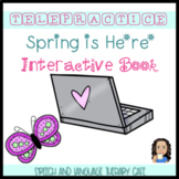 TELEPRACTICE: AAC THEMATIC INTERACTIVE BOOK: SPRING IS HERE