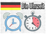 TELL THE TIME IN GERMAN - WORKSHEETS