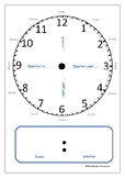 TELLING THE TIME - LEARNING ACTIVITY