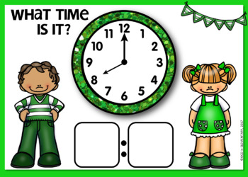 TELLING TIME BOOM CARDS   DIGITAL TASK CARDS   Module 5 Lesson 12