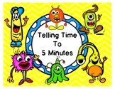TELLING TIME: PowerPoint, Task Cards, Worksheets