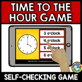 TELLING TIME TO THE HOUR GAME (MEASUREMENT ACTIVITIES FOR