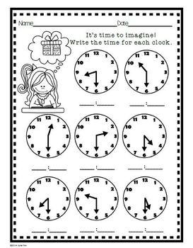 telling time practice worksheets digital hour half hour clip art clocks. Black Bedroom Furniture Sets. Home Design Ideas