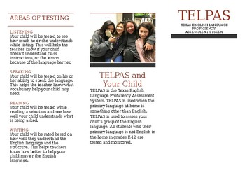 TELPAS Brochure in simple English