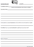 Government News Current Events Journal Debate TEMPLATE CORE FRENCH IMMERSION