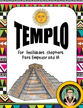 TEMPLO: Spanish Review Game: Beginner's Vocabulary Questio