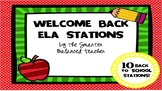 TEN 2nd Grade Welcome Back to School ELA Stations