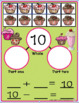 TEN FRAME ADDITION SUBTRACTION MAT AND  WORK SHEETS CANDYLAND