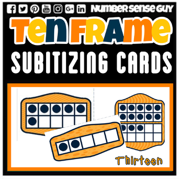 TEN FRAMES ADDITION CARDS