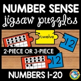 TEN FRAMES ACTIVITY (PUZZLES WITH NUMBER WORDS AND NUMERALS)