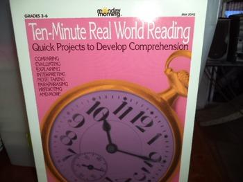 TEN MINUTE REAL WORLD READING  ISBN 1-57612-022-8