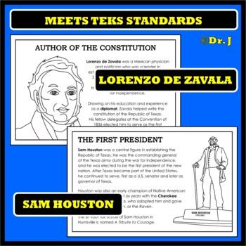 TEN TEXAS HEROES (Leaders Who Shaped Texas History)