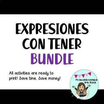 TENER EXPRESSIONS/ EXPRESIONES CON TENER BUNDLE