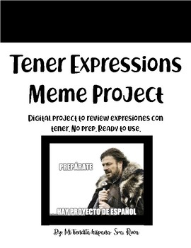 TENER EXPRESSIONS MEME BOARD PROJECT
