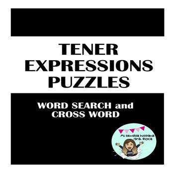 TENER EXPRESSIONS PUZZLES- EXPRESIONES CON TENER