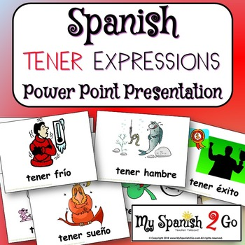 TENER EXPRESSIONS:  Spanish Powerpoint