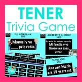 TENER Jeopardy-Style Trivia Game  | Spanish Review Game
