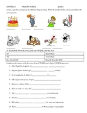 TENER and Expressions QUIZ
