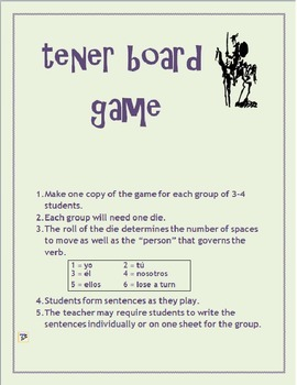 TENER board game
