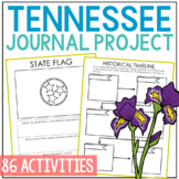 TENNESSEE State History Journal Project | Social Studies Lesson Plans Unit Study