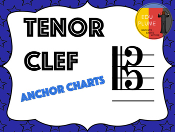 TENOR CLEF - NOTE NAME SIGNS