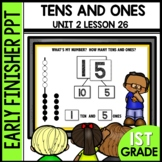 Early Finishers Activities | TENS AND ONES