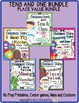 TENS AND ONES MATCHING MAT AND CENTER GAME COMMON CORE ENV