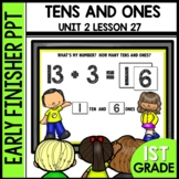 Early Finishers Activities | TENS AND ONES (addition and s