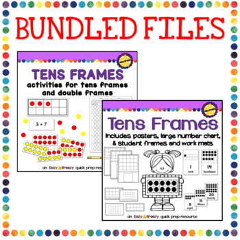 TENS FRAMES BUNDLE