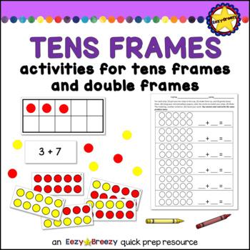 TENS FRAMES practice