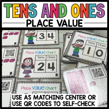 TASK CARDS TENS and ONES