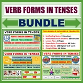 TENSES AND VERB FORMS - CLASSROOM RESOURCES - BUNDLE