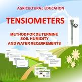 TENSIOMETERS, METHOD FOR DETERMINE SOIL HUMIDITY