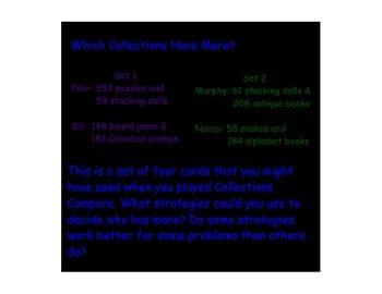 TERC (Investigations) Unit 8: How Many Hundreds, How Many Miles